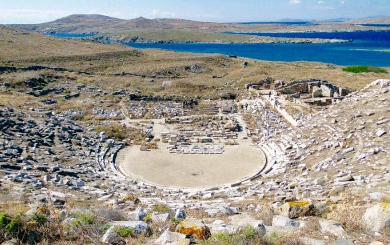 Isola di Delos, Mykonos