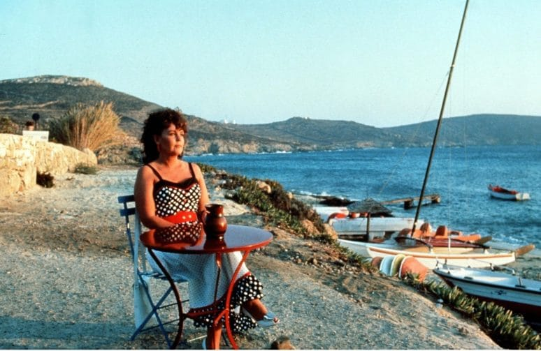 Where in Mykonos Greece was Shirley Valentine filmed