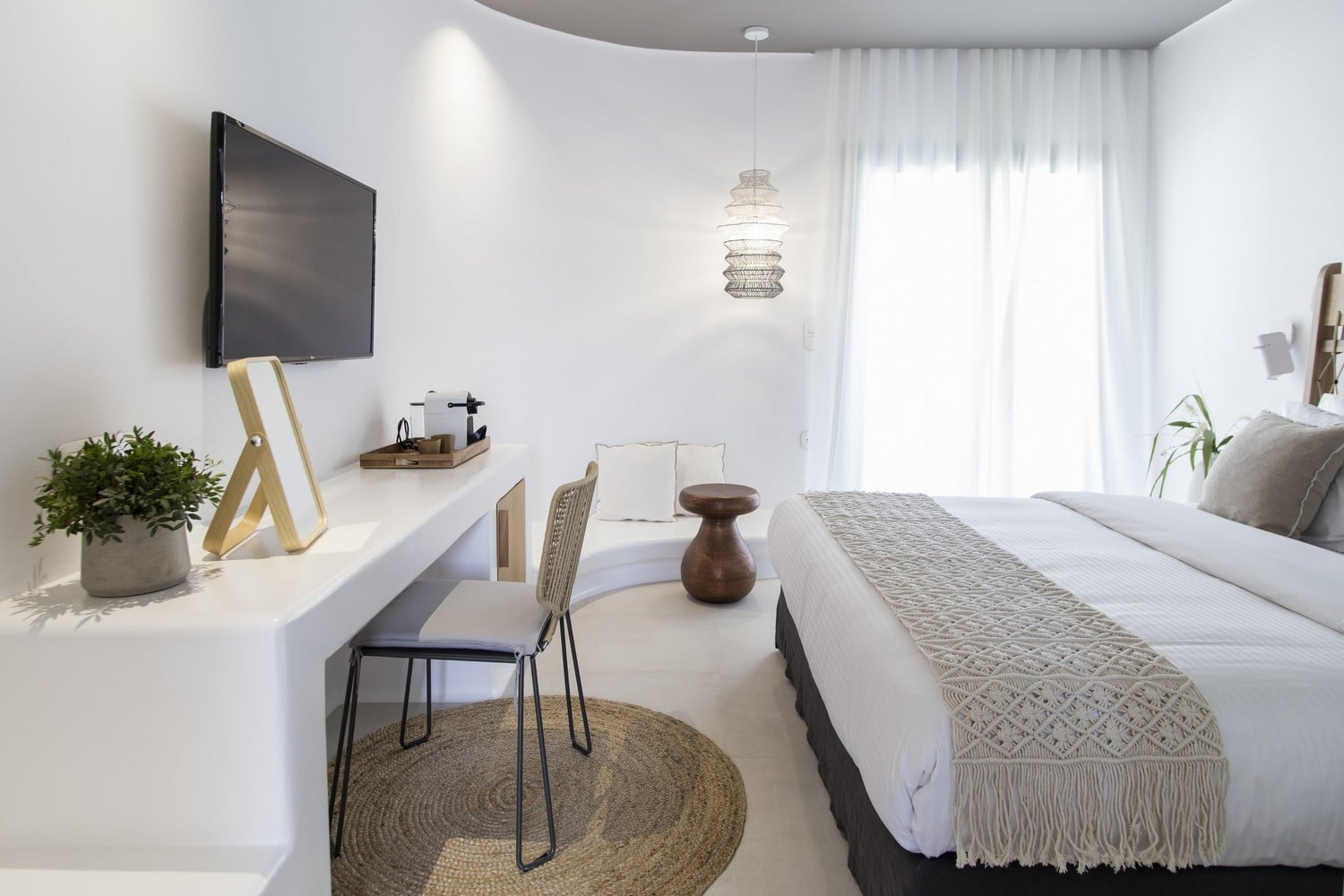 Premium Maisonette with Private Pool - Bedroom View